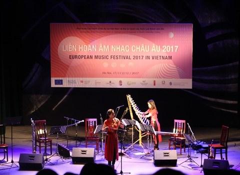Quintet Inattendu conjugue les cultures orientale et occidentale a Hanoi hinh anh 2