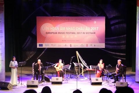Quintet Inattendu conjugue les cultures orientale et occidentale a Hanoi hinh anh 1
