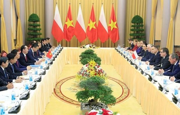 La Pologne, partenaire prioritaire du Vietnam en Europe centrale et orientale hinh anh 1