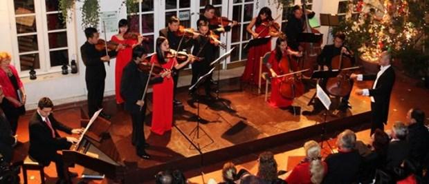 Concert de Noel avec l'Orchestre symphonique du Vietnam (VNSO) hinh anh 1
