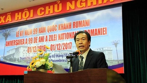 Renforcer l'amitie traditionnelle entre le Vietnam et la Roumanie hinh anh 1