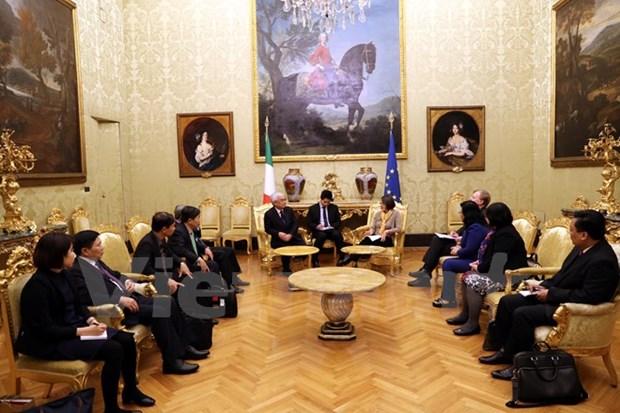 Vietnam et Italie renforcent leurs relations legislatives hinh anh 1