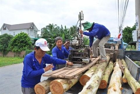 Ils construisent des maisons pour les plus demunis a Dong Thap Muoi hinh anh 1