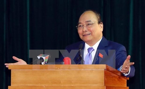 Le PM Nguyen Xuan Phuc affirme les acquis socioeconomiques de 2017 hinh anh 1