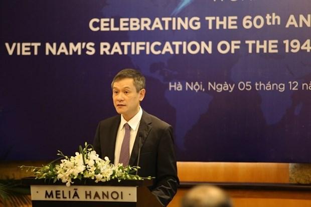 La promotion du droit international humanitaire en debat a Hanoi hinh anh 1