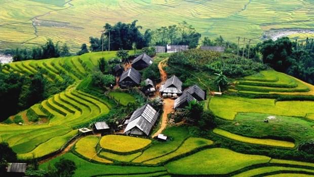 Sa Pa est reconnu en tant que zone touristique nationale hinh anh 1