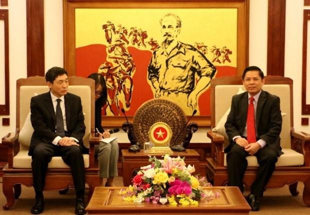 La R. de Coree s'interesse a l'amelioration de l'infrastructure de transport au Vietnam hinh anh 1