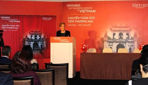 De nouvelles cooperations entre l'Ontario (Canada) et le Vietnam hinh anh 1