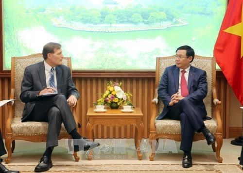 Le vice-PM Vuong Dinh Hue salue les apports de l'USAID hinh anh 1