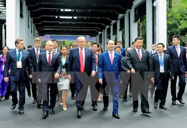 Le Vietnam a termine l'Annee de l'APEC 2017 en apotheose hinh anh 1
