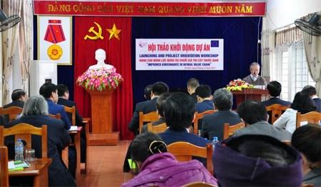 L'UE aide le Vietnam a mieux gerer ses plantes medicinales hinh anh 1
