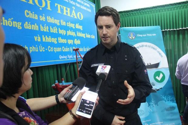 L'Australie apprecie les efforts du Vietnam contre la peche illegale hinh anh 1