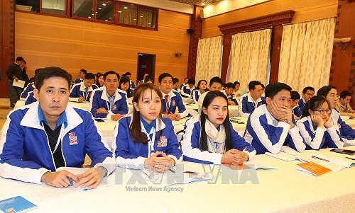 Un millier de jeunes delegues dialoguent avec les responsables des ministeres hinh anh 1