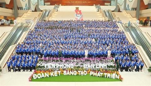 Un millier de jeunes delegues dialoguent avec les responsables des ministeres hinh anh 2
