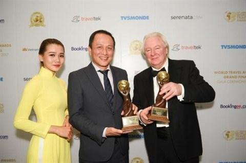 Tourisme : le Vietnam honore par les prix