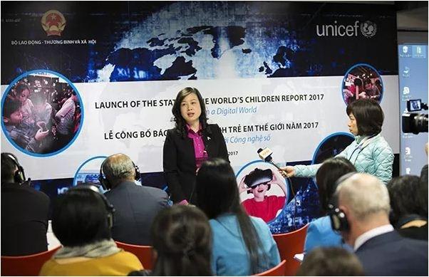 L'UNICEF appelle a rendre le monde numerique plus sur pour les enfants hinh anh 1