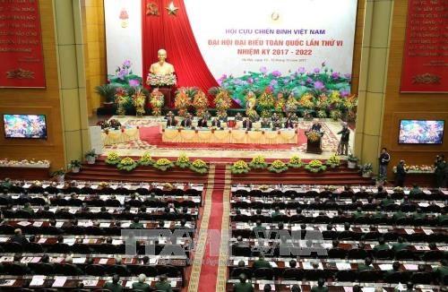 Ouverture du 6e Congres national de l'Association des anciens combattants du Vietnam hinh anh 3