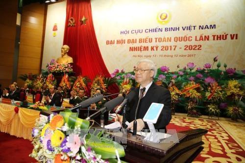 Ouverture du 6e Congres national de l'Association des anciens combattants du Vietnam hinh anh 1