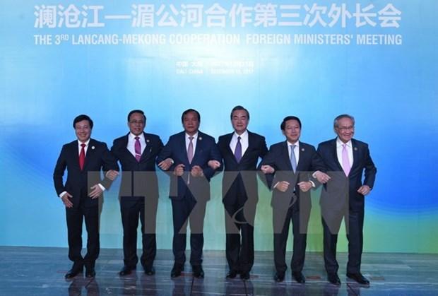 Troisieme conference ministerielle sur la cooperation du Mekong-Lancang en Chine hinh anh 1