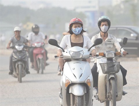 La qualite de l'air se degrade encore a Hanoi hinh anh 1