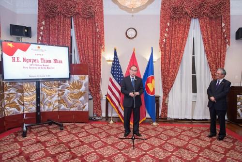 Un membre du Politburo apprecie le partenariat strategique avec les Etats-Unis hinh anh 1