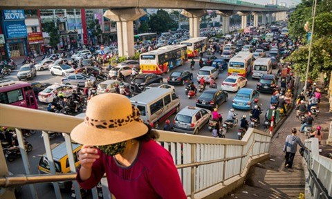 La qualite de l'air se degrade encore a Hanoi hinh anh 2