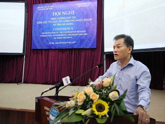 Conference-bilan des aides des ONG etrangeres 2013-2017 hinh anh 1