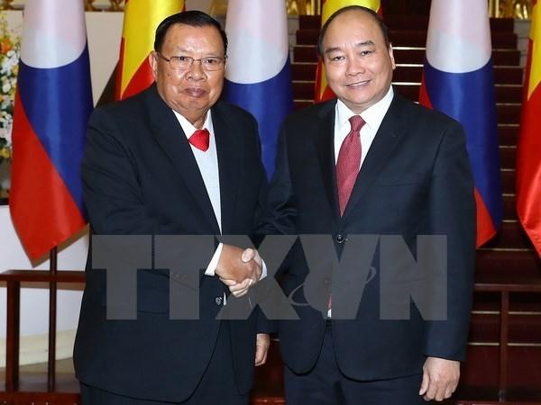 Le Vietnam et le Laos vont booster leur cooperation integrale hinh anh 1