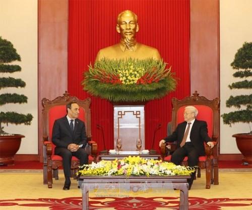 Le Vietnam et le Maroc resolus a intensifier leurs relations hinh anh 1