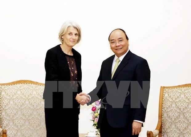 Le Vietnam affirme prendre en haute consideration les relations avec le Danemark hinh anh 1