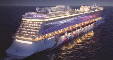 Saigontourist accueille le navire de croisiere World Dream au Vietnam hinh anh 1