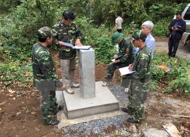 Dak Nong acheve la delimitation et le bornage frontaliers hinh anh 1