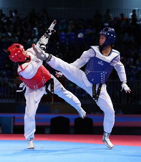 ASIAD 2018 : la ruee vers l'or du taekwondo vietnamien hinh anh 2