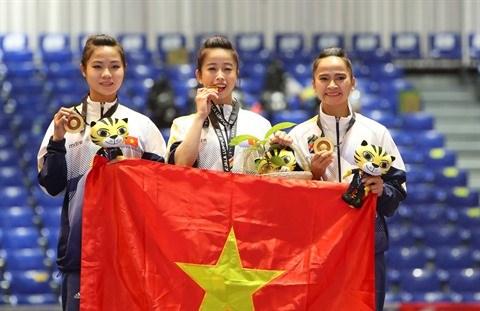 ASIAD 2018 : la ruee vers l'or du taekwondo vietnamien hinh anh 1
