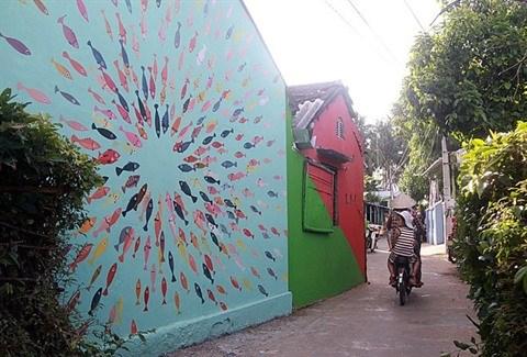 Quand l'art change la vie d'un village de pecheurs dans le Centre hinh anh 2