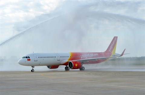 Vietjet recoit son premier Airbus A321neo hinh anh 2