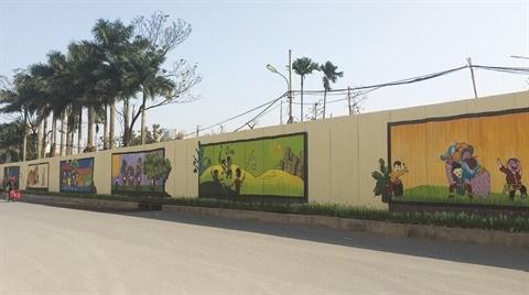 Le street art appose sa touche dans la capitale hinh anh 3