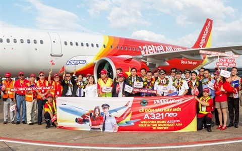 Vietjet recoit son premier Airbus A321neo hinh anh 4