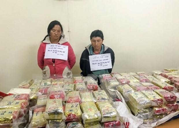 Decouverte du plus grand trafic de drogue au Vietnam hinh anh 1