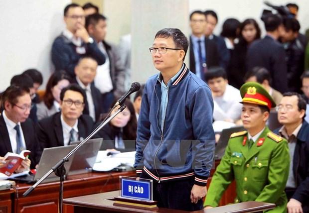 Le proces de l'affaire survenue a PetroVietnam et a PVC s'ouvre hinh anh 2
