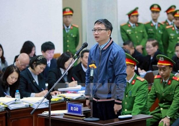 Trinh Xuan Thanh refuse de prendre la responsabilite hinh anh 1