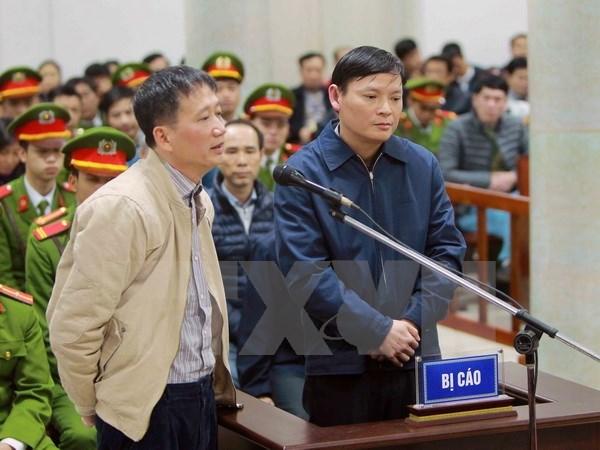 Trinh Xuan Thanh nie en bloc, Dinh La Thang se defend hinh anh 1