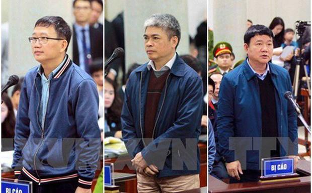 Le parquet requiert 14-15 ans de prison pour Dinh La Thang, la perpetuite pour Trinh Xuan Thanh hinh anh 1