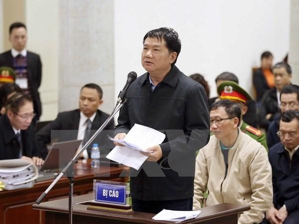 Les accuses dans le proces de l'affaire a PetroVietnam et a PVC se sont defendus hinh anh 1