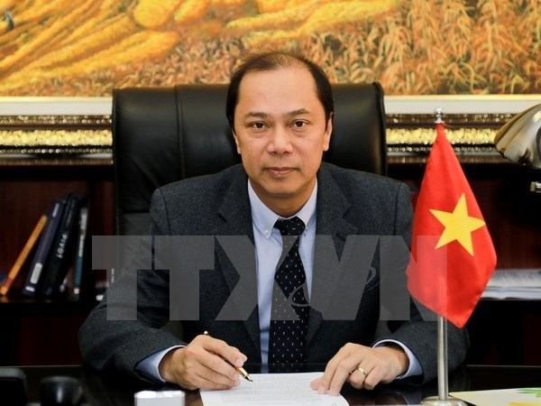 Le Vietnam a la conference restreinte de hauts officiels de l'ASEAN a Singapour hinh anh 1