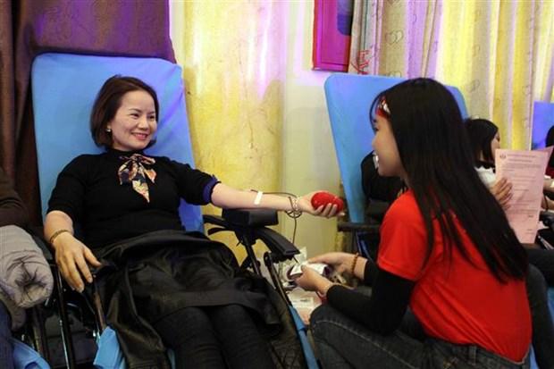 Don du sang : Le «Dimanche rouge 2018» lance dans plusieurs localites hinh anh 1
