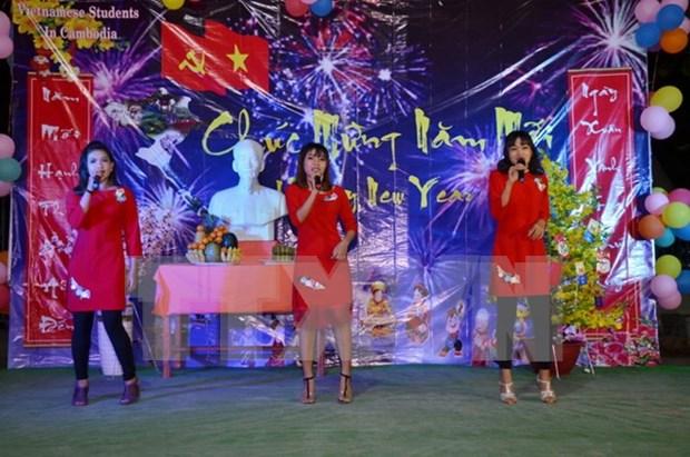 Soiree de gala en l'honneur du Nouvel An au Cambodge hinh anh 1