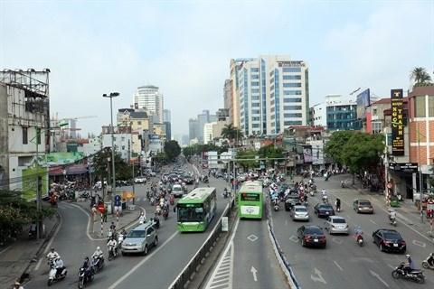 Les taxis Uber et Grab bannis de certaines rues de Hanoi aux heures de pointe hinh anh 1