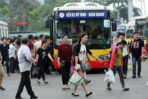 Les taxis Uber et Grab bannis de certaines rues de Hanoi aux heures de pointe hinh anh 2