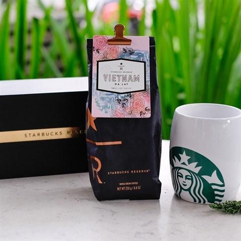 Le cafe de Da Lat s'associe a la chaine de cafe Starbucks hinh anh 1